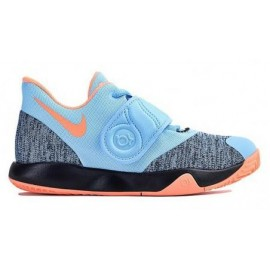 Zapatillas baloncesto Nike KD Trey 5 VI azul/naranja niño