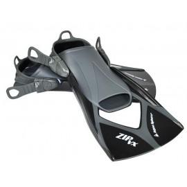 Aletas natación Aquasphere Zip VX negra/gris