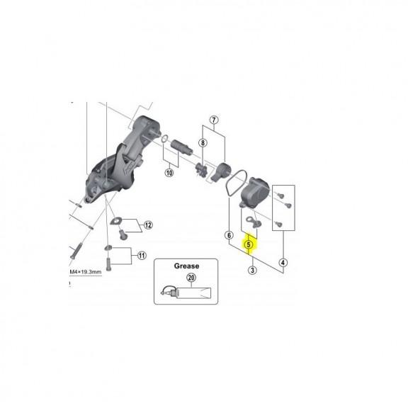 Tapa y goma RD-8000 Shadow Plus 5RT98150