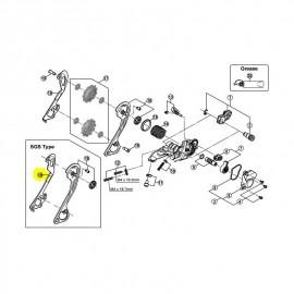 Portapoleas interior cambio 780-81-85 Sgs 10V 5Y01000