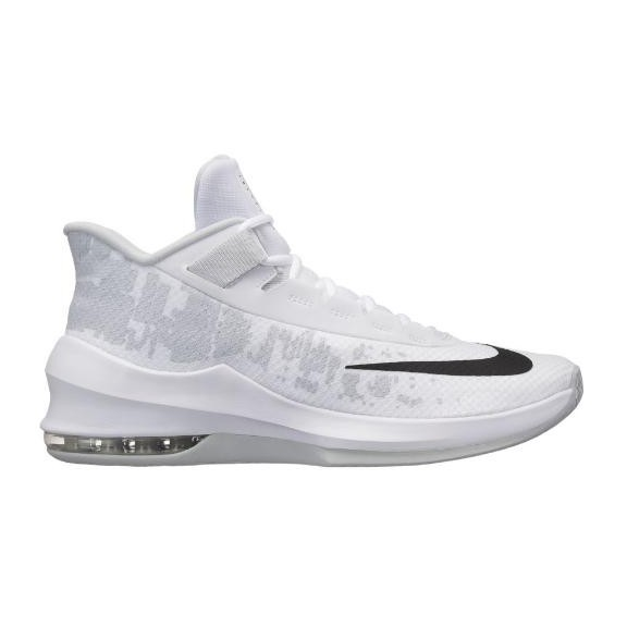 f19cd7fa Zapatillas de Baloncesto Nike Air Max Infuriate 2 Mid Blanc ...