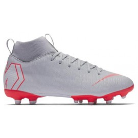 Botas de futbol Nike Superfly 6 Academy (MG) gris junior