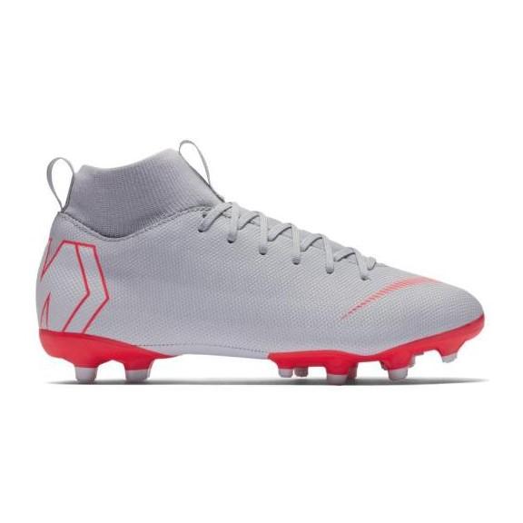 df96a2bc4f459 Botas de Fútbol Nike Superfly 6 Academy (Mg) Gris Junior - Deportes Moya