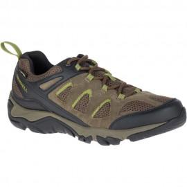 Zapatillas trekking Merrell Outmost Vent GTX verde hombre