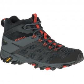 Botas trekking Merrell Moab FST 2 Mid GTX negra hombre