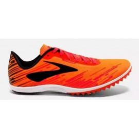 Zapatillas de clavos Brooks Mach 18 naranja hombre