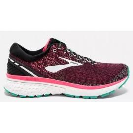 Zapatillas de running Brooks Ghost 11 negro/rosa mujer