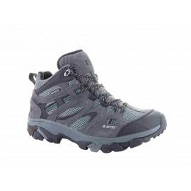 Botas trekking Hi-Tec Ravus Vent Mid WP gris hombre