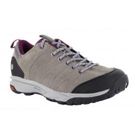 Zapatillas trekking Hi-Tec Tortola Trail WP marron mujer