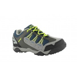 Zapatillas trekking Hi-Tec Forza Low WP Jr gris niñ@