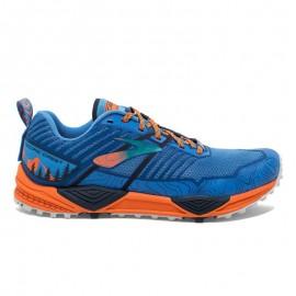 Zapatillas trail Brooks Cascadia 13 azul/naranja hombre