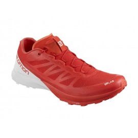 Zapatillas trail runing Salomon S-Lab Sense 7 roja hombre