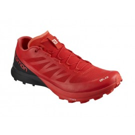 Zapatillas trail runing Salomon S-Lab Sense 7 SG roja hombre