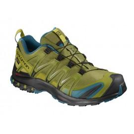 Zapatillas trail running Salomon Xa Pro 3D GTX lima hombre