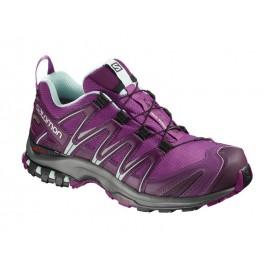 Zapatillas trail running Salomon Xa Pro 3D GTX morada mujer
