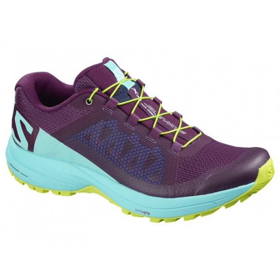 Zapatillas trail running Salomon Xa Elevate W morada mujer ... a572ca8bea6