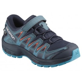 Zapatillas trail running Salomon Xa Pro 3D CSWP azul niñ@