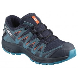 Zapatillas trail running Salomon Xa Pro 3D azul niñ@