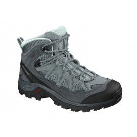 Botas trekking Salomon Authentic Ltr GTX verde mujer