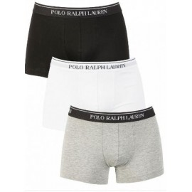 Boxer Pack algodon Polo Ralph Lauren tricolor hombre