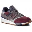 Zapatillas New Balance ML597.BGN gris burdeos hombre