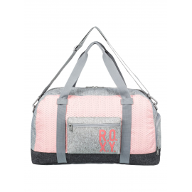 Bolso Roxy Feel Happy 32L gris rosa