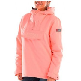 Anorak outdoor+8000 Fitzroy salmon mujer