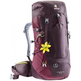 Mochila trekking Deuter Futura Pro 34 SL morada mujer