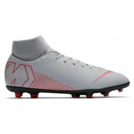 Zapatillas fútbol Nike Superfly 6 club FG/MG gris hombre