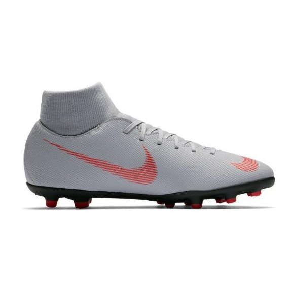 ae0804c3e9 Zapatillas fútbol Nike Superfly 6 club FG MG gris hombre - Deportes Moya