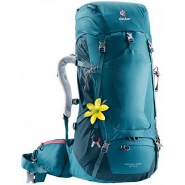 Mochila trekking Deuter Futura Vario 45+10 SL verde mujer