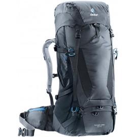 Mochila trekking Deuter Futura Vario 50+10 gris/negro