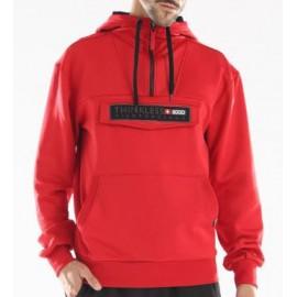 Sudadera polar +8000 Ibon rojo hombre