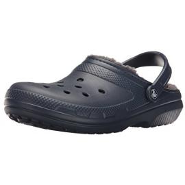 Crocs Classic Lined Clog U azul gris hombre