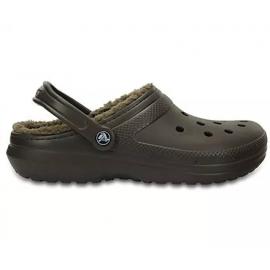 Crocs Classic Lined Clog U marrón hombre