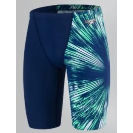 Bañador Speedo Placement V jammer azul/verde hombre