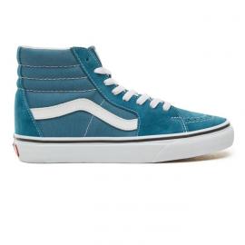 Zapatillas Vans SK8-HI azul/blanco unisex