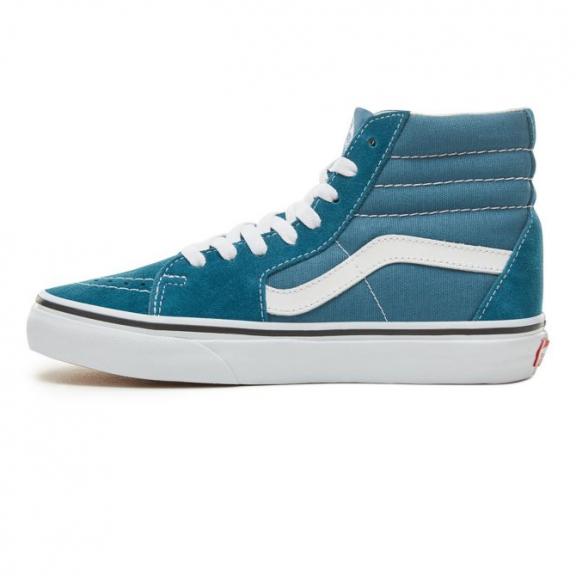 Zapatillas Vans SK8-HI azul blanco unisex - Deportes Moya e7e02ae4298
