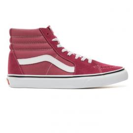 Zapatillas Vans SK8-HI rosa/blanco unisex