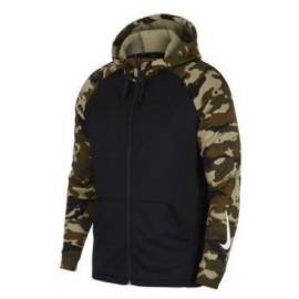Sudadera Nike Dry negra/camuflaje hombre