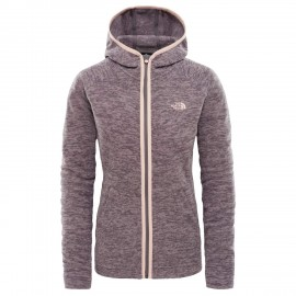Forro polar The North Face Nikster salmón jaspeado mujer