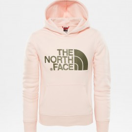 Sudadera outdoor The North Face Drew peak rosa junior