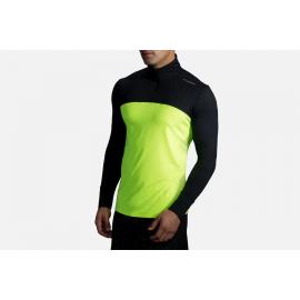 Camiseta running Brooks Dash 1/2  Nightlife amarillo hombre