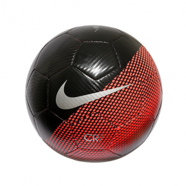 Balón fútbol Nike CR7 Prestige negro/rojo