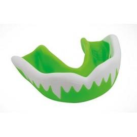 Protector bucal Gilbert Viper verde/blanco JR