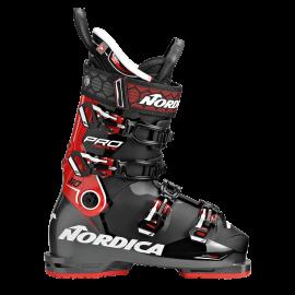 Botas esquí Nordica Pro Machine 110  negro rojo hombre