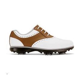 Zapatos golf FootJoy Emerge blanco/marrón mujer