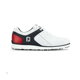 Zapatos golf FootJoy Pro SL blanco/marino/rojo hombre