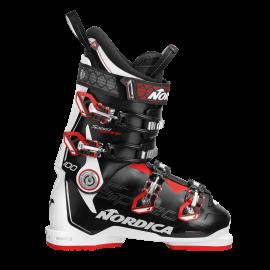 Botas esquí Nordica Speedmachime 100 negro blanco hombre