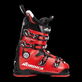 Botas esquí Nordica Sportmachine 110 negro rojo  talla 31.0
